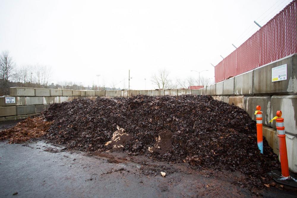 Full compost yard