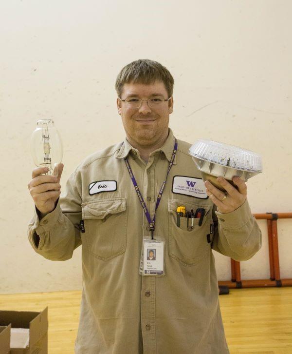 Eric Yerxa compares old and new bulbs