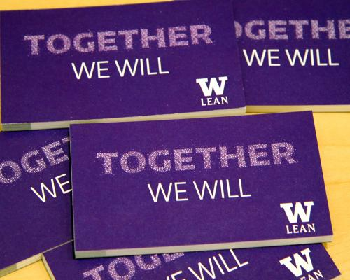 Together we can/UW Lean