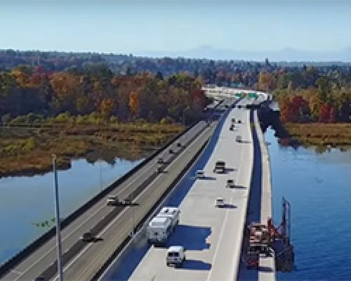 SR 520 bridge trail opening