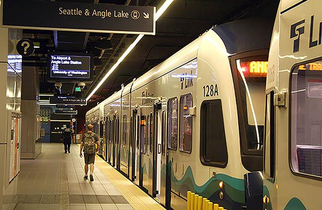 Link light rail will get you their quicker