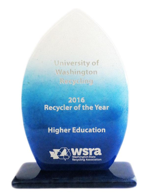 WSRA's 2016 Recycler of the Year award