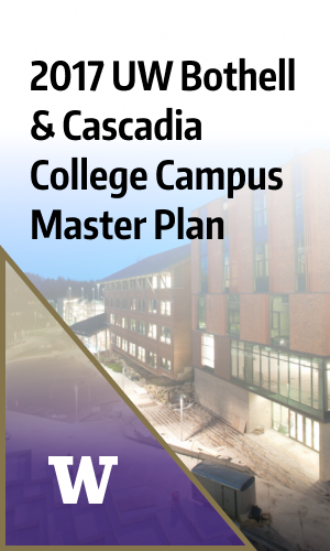 2017 uw bothell & cascadia college campus master plan