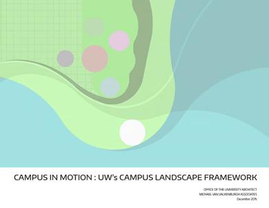 2015 campus landscape framework