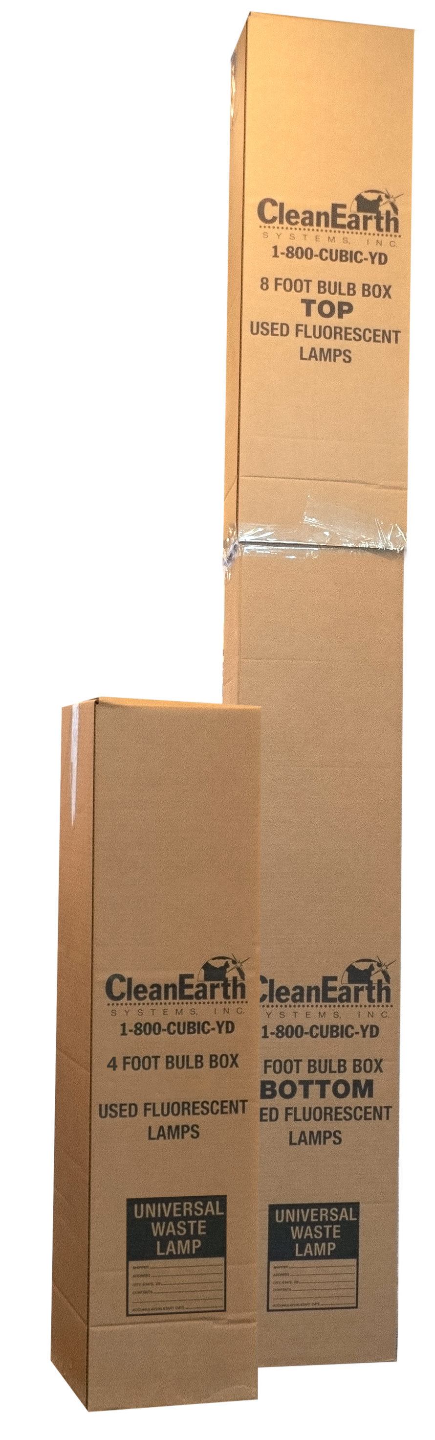 boxes for fluorescent lamps