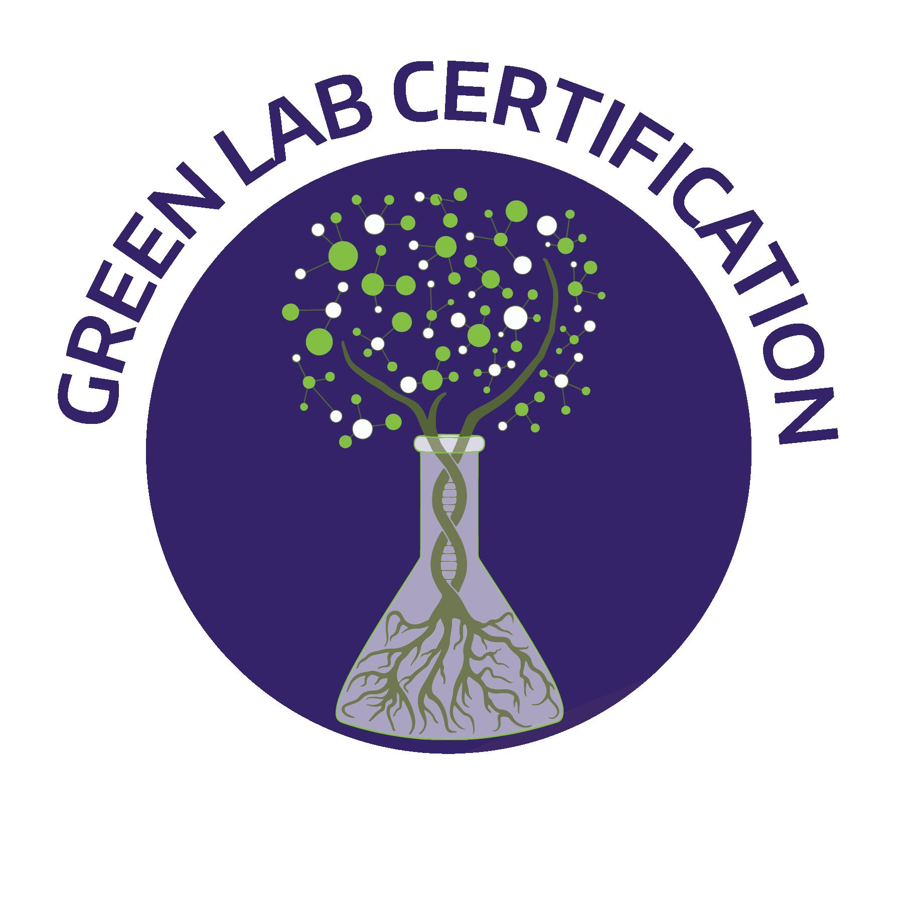 green lab certification logo