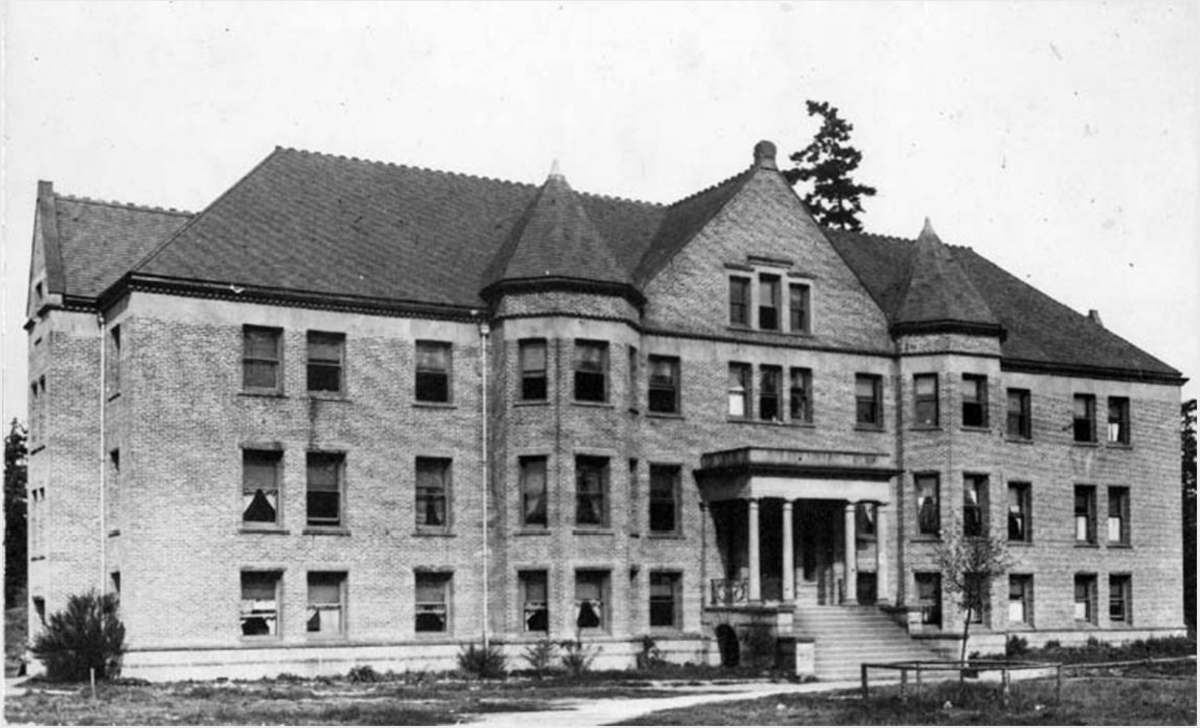 clark hall historic photo