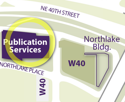 Campus Map - Publication Services
