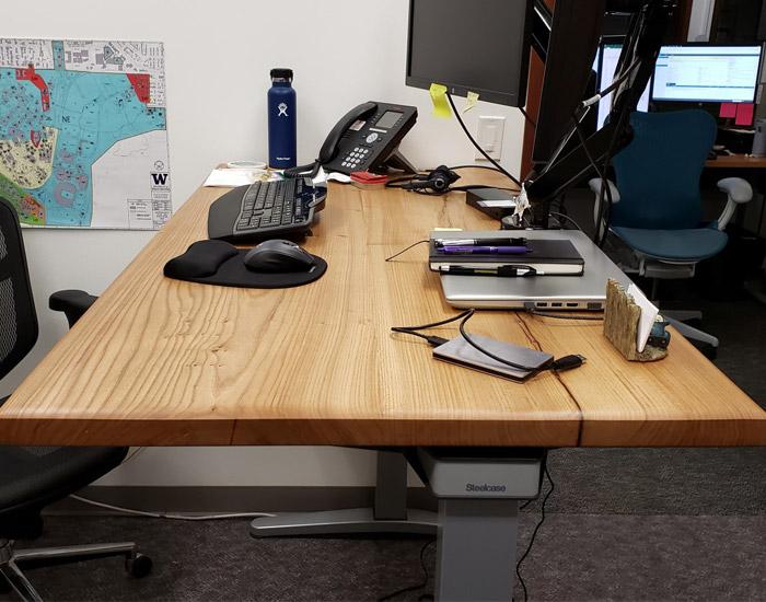 standing desk desktop