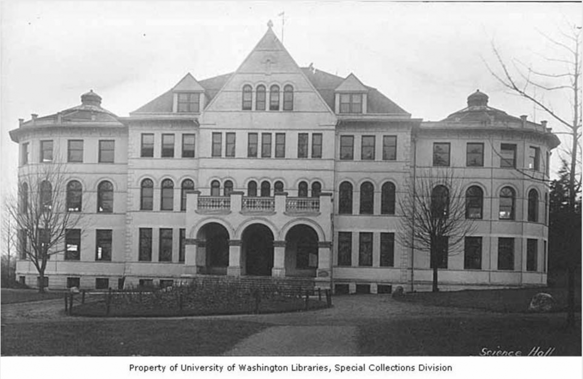 science hall historic photo
