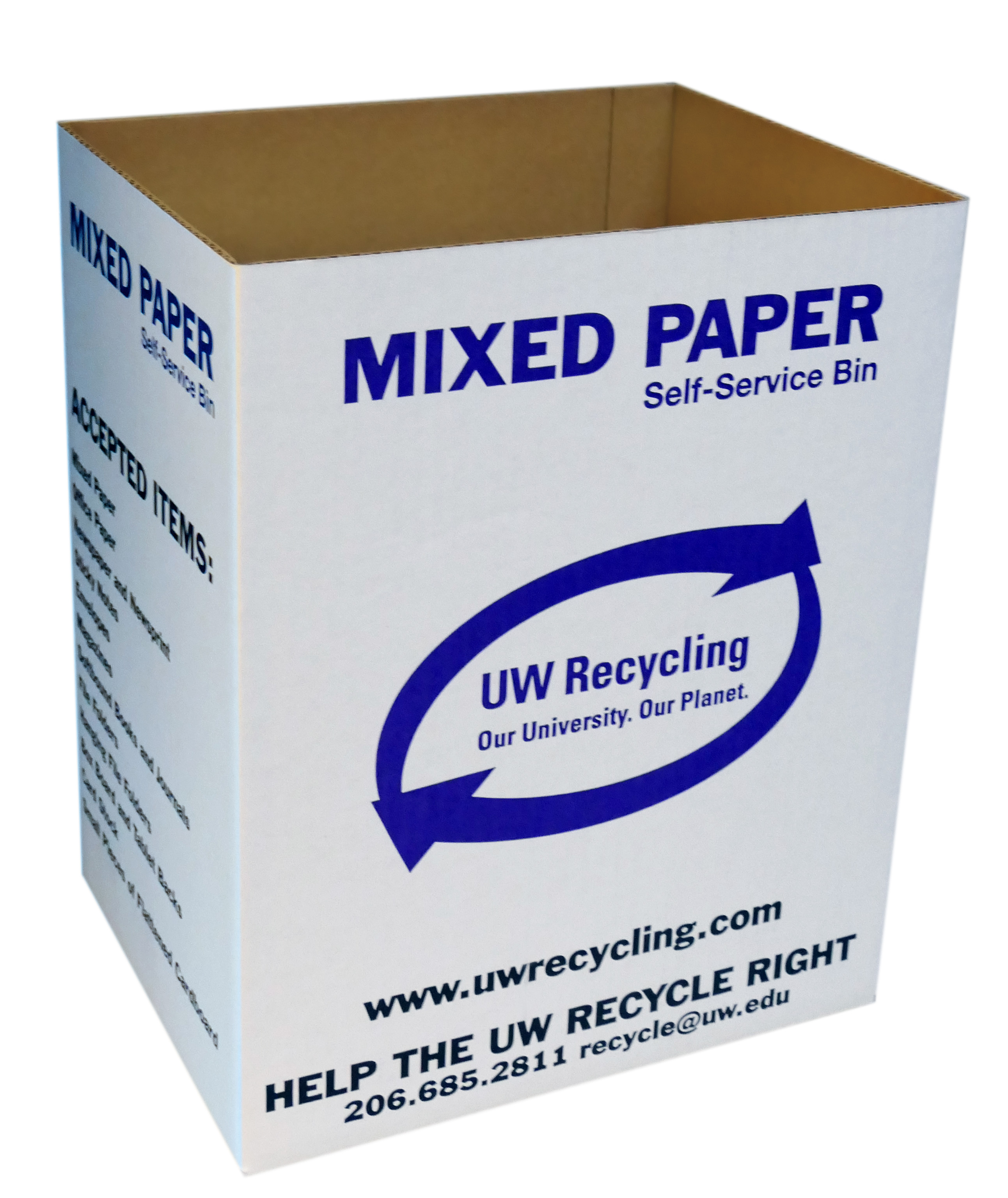 Self-Service Mixed Paper