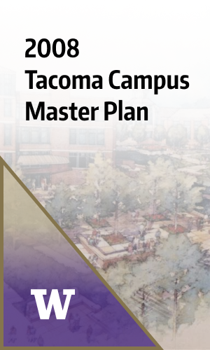 2008 tacoma master plan cover page