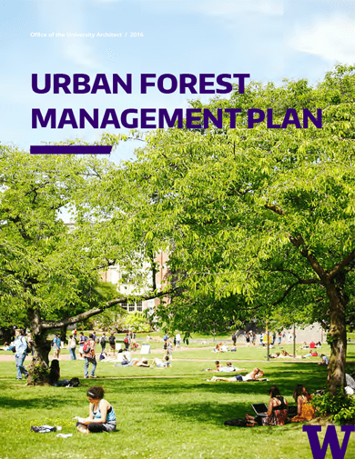 2016 urban forest management plan cover page