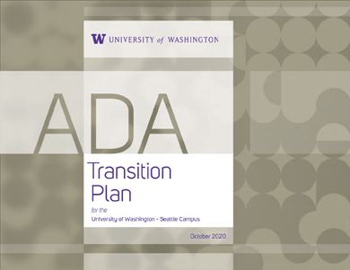 uw seattle ada transition plan 2020 cover page thumbnail