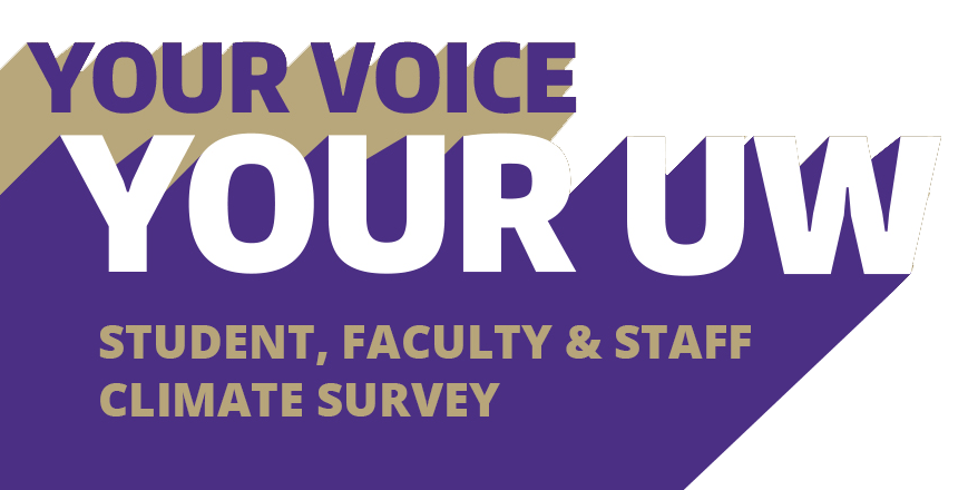 your voice your uw - student, faculty and staff climate survey