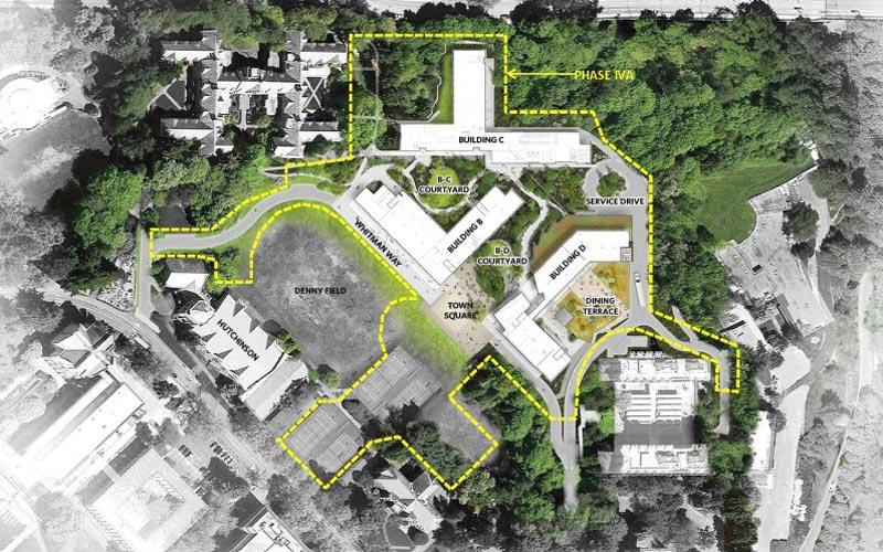 north campus housing phase iv a site plan