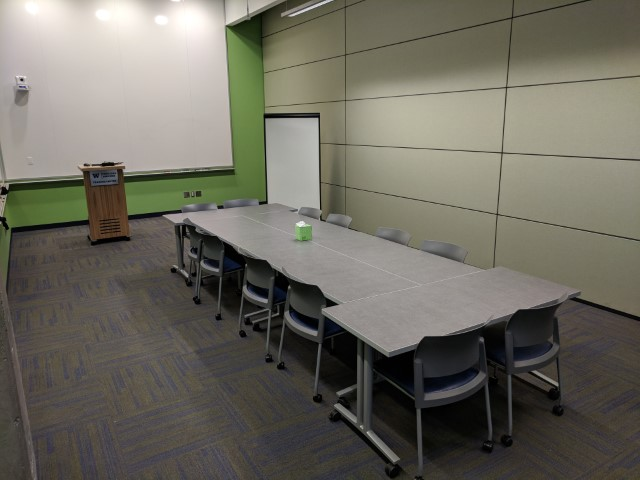 Room configuration: Conference