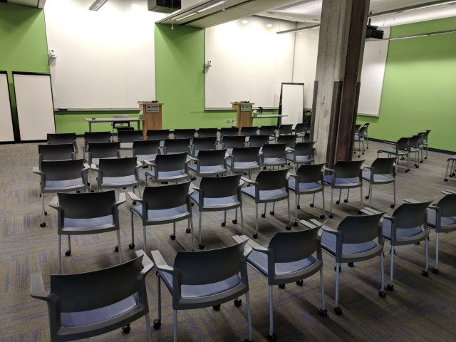Room configuration: lecture
