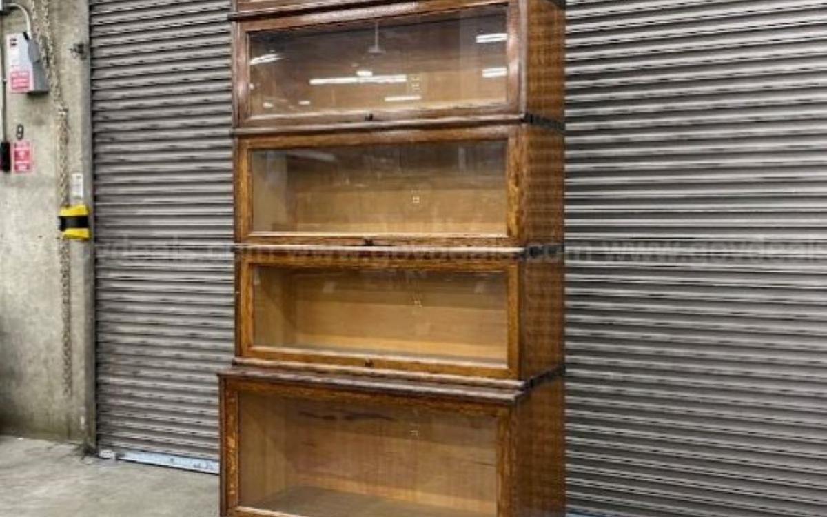 Photo of Antique Barrister Bookshelf by Macey Furniture Co.
