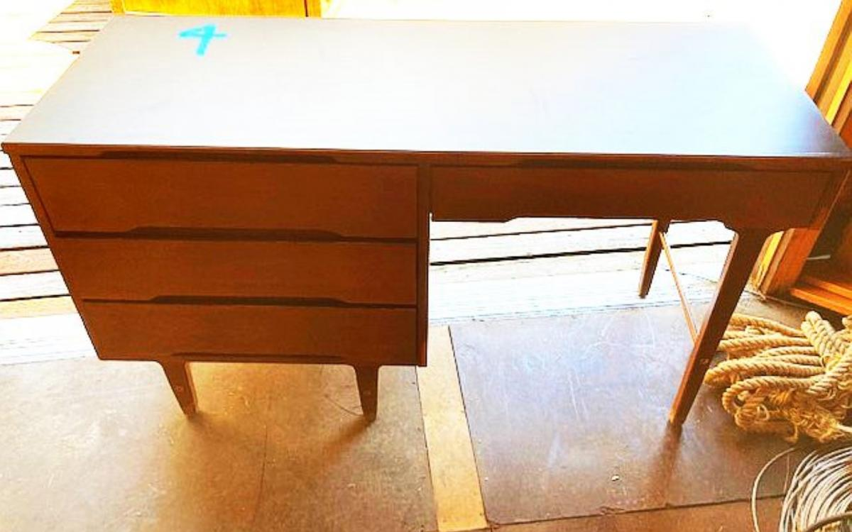 Photo of wooden desk #4 at Friday Harbor