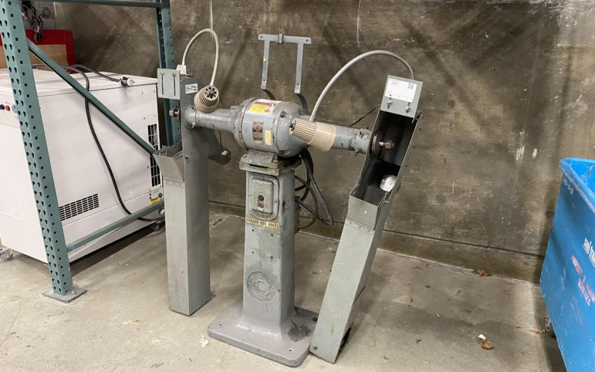 Photo of Pedestal Grinder: Queen City 12-B - NOT TESTED