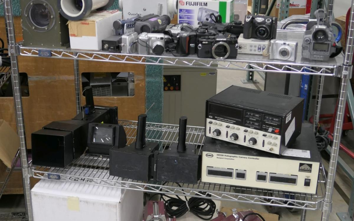 Photo of Lot 55: Misc photography equipment