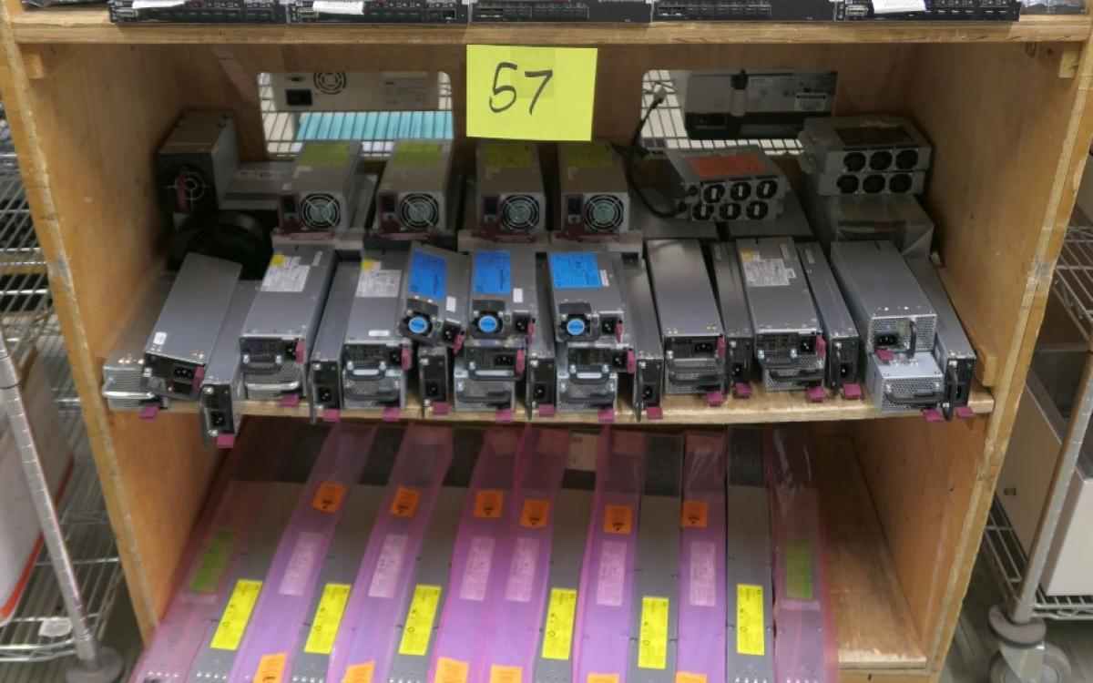 Photo of Lot 57: Misc computer parts