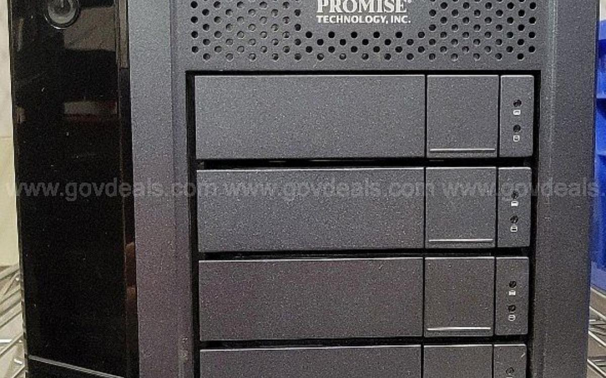 Photot of Storage Array: Promise Technology Pegasus 2 R4 8TB (Wiped) (300-18)
